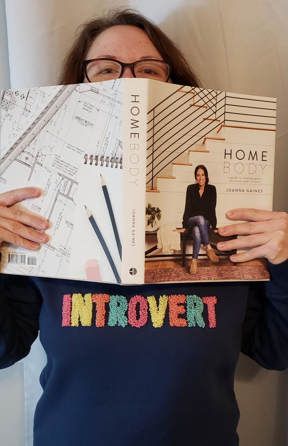 Introvert Punch Needle Sweat Shirt